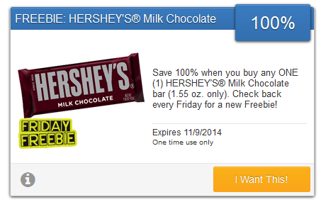 hershey's savingstar