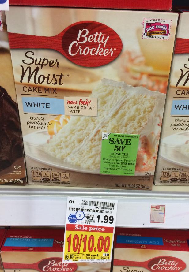 List Of Betty Crocker Cake Mixes