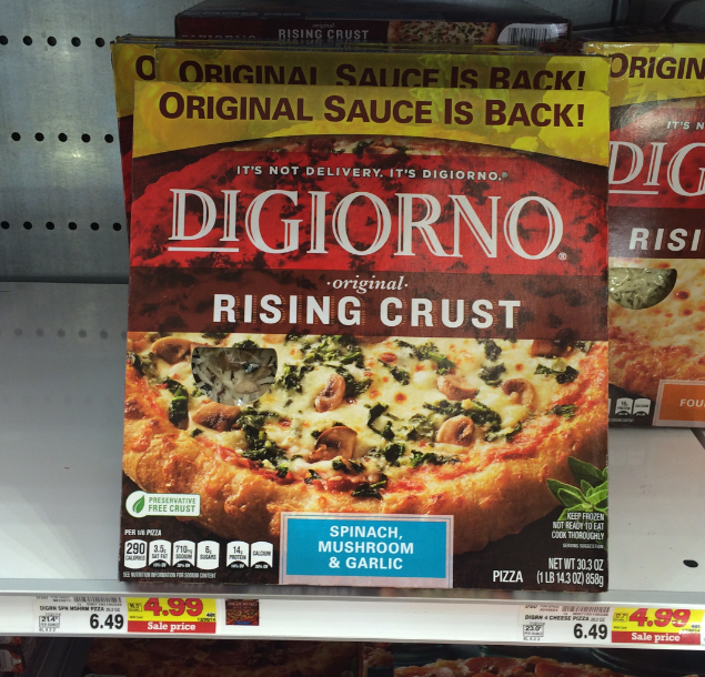 This is a photo of Intrepid Digiorno Pizza Coupon Printable