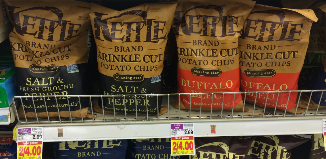 Buy Here Pay Here Az >> Kettle Potato Chip Coupon = ONLY $1.50 at Kroger! | Kroger Krazy