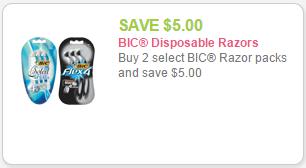 new bic coupon