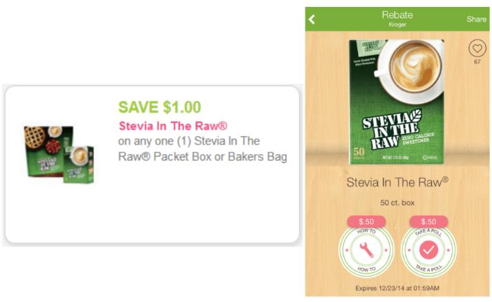 stevia coupons