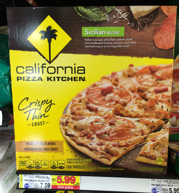 California Kitchen Pizza Coupon