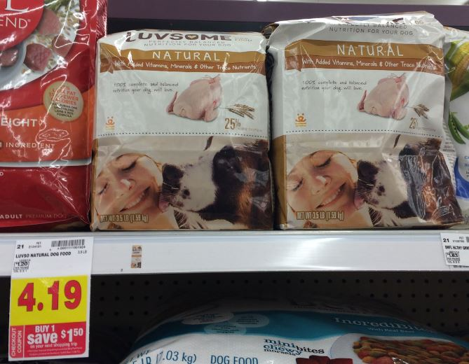 Luvsome dog food