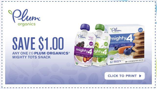 Plum organics coupon