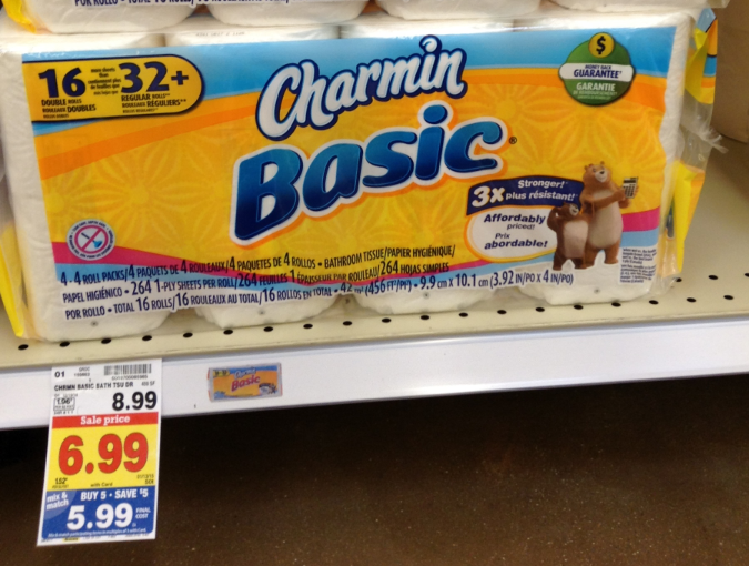 NEW Charmin Coupons = as low as $0.34 per Double Roll with Kroger ...