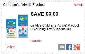 photo relating to Advil Printable Coupon known as Contemporary Childrens Advil Coupon codes \u003d as lower as $1.99 at Kroger