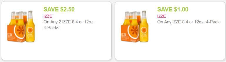 izze coupon