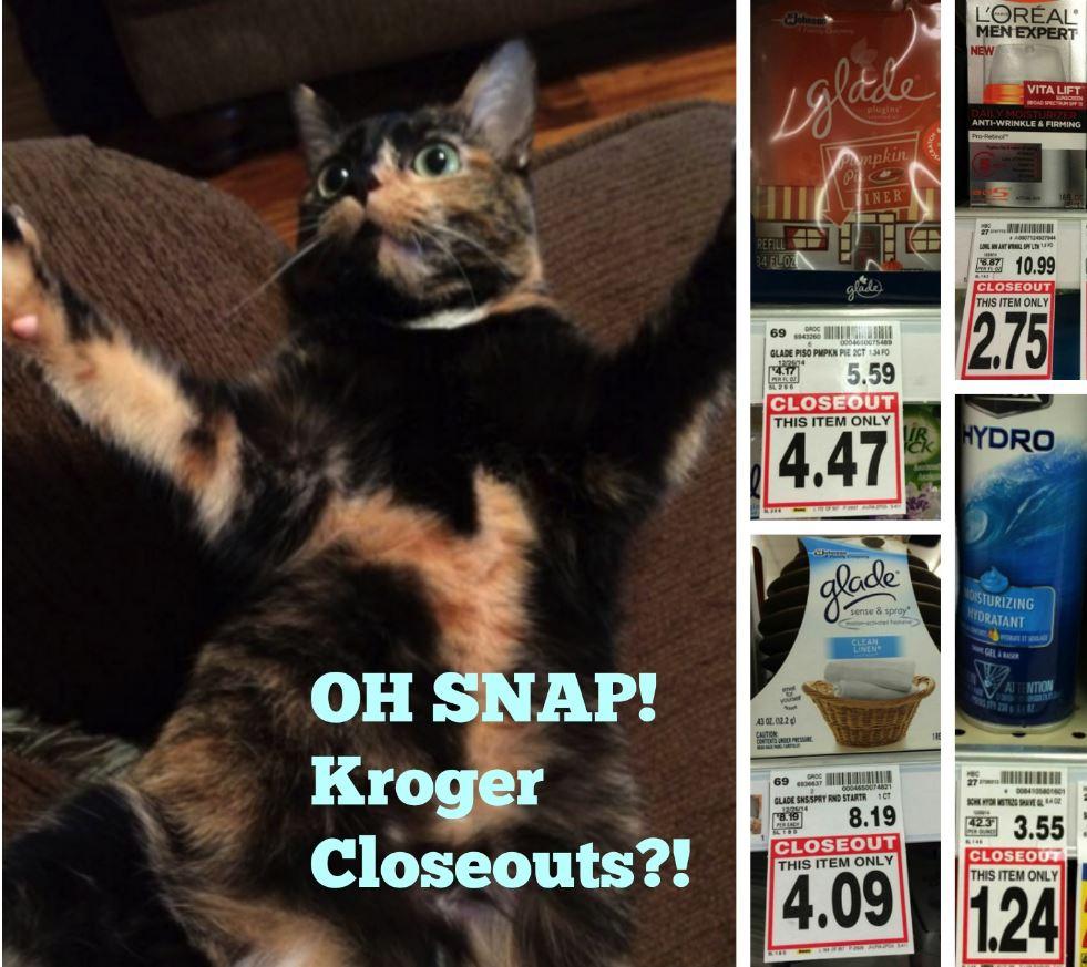 kroger closeouts