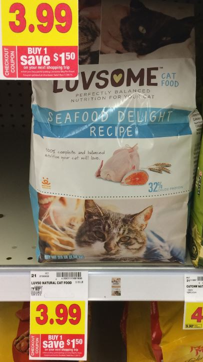 Luvsome Cat Food