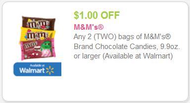 m&m coupon
