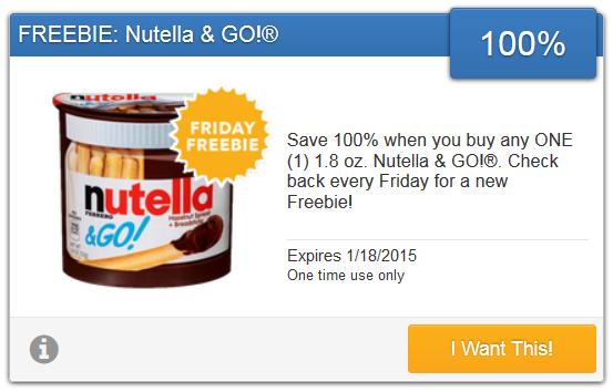 nutella savingstar