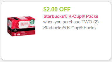 picture regarding Starbucks K Cups Printable Coupons identified as Contemporary Starbucks K-Cups Coupon! Kroger Krazy