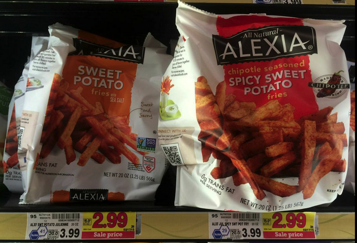 Alexia french fries coupons