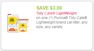 picture relating to Tidy Cat Printable Coupons titled Fresh $3 Tidy Cats Light-weight Brand name Cat Clutter Coupon