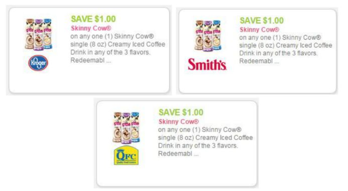 Skinny cow coupons