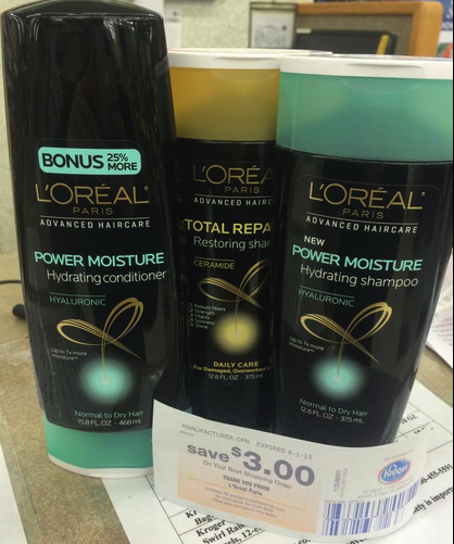 dffb1f7c3 L Oreal Advanced Hair Catalina   FREE Shampoo and Conditioner with Kroger  Mega Sale!