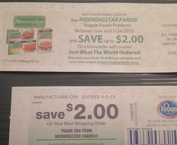 Morning star coupons