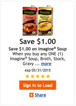 Imagine Organic Broth coupon