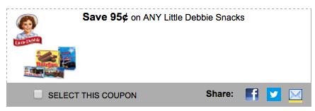 Little Debbie coupon