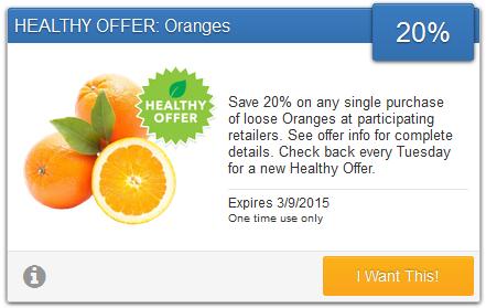 savingstar healthy offer