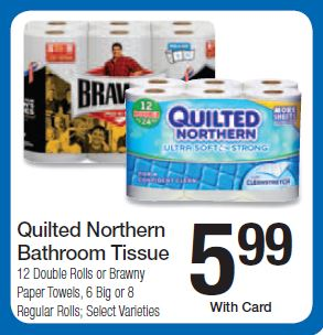 NEW Quilted Northern Coupon = $4.99 for 12 Double Rolls at Kroger ... : quilted northern coupon - Adamdwight.com