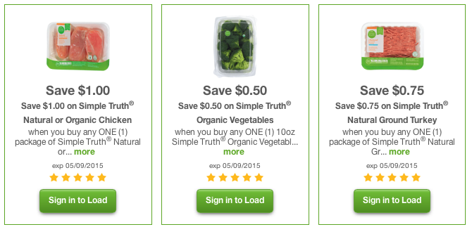 photo relating to Organic Printable Coupons called $14.05 Relevance of Straightforward Fact Natural and organic/Organic Discount codes