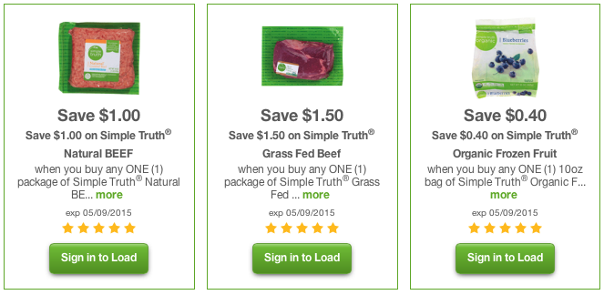 simple truth coupons