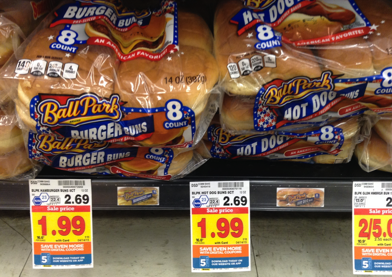 Hot Dog Buns Price Kroger