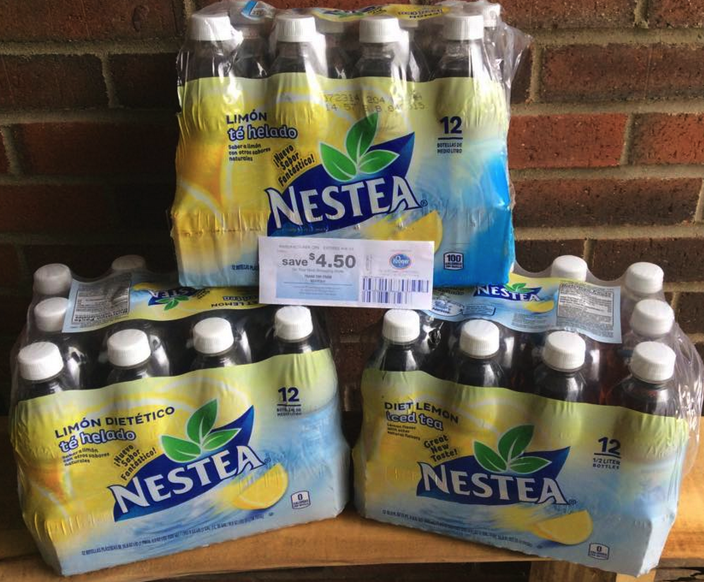 6-12 Pack Snapple, Lipton and Nestea ONLY $3.99 at Kroger ...