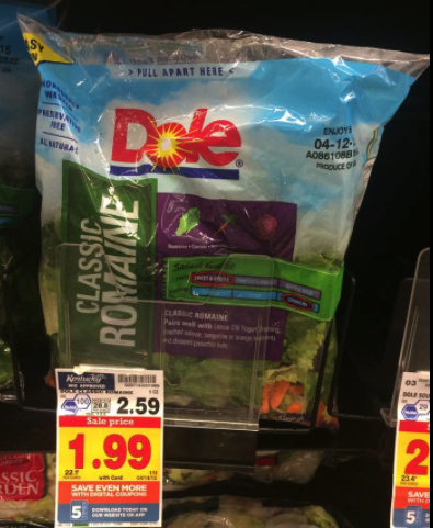 dole salad coupon