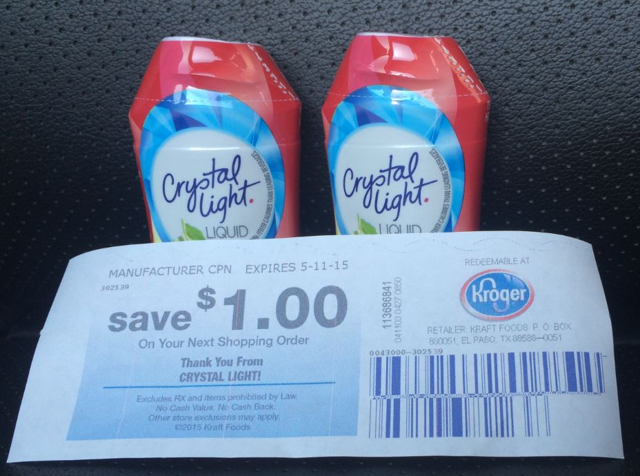There Is A New Crystal Light Drink Mix Coupon Available To Print.Find Best  Value And Selection For Your COUPONS ...