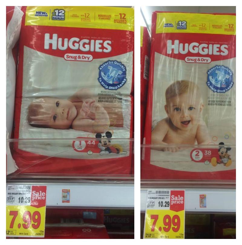 NEW Huggies Coupons + Catalina = Diapers as low as $2.99 at Kroger ...