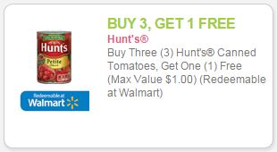 hunts coupon