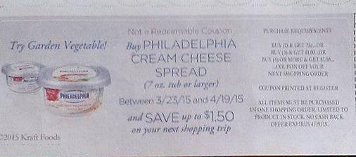 Philadelphia Cream Cheese Catalina