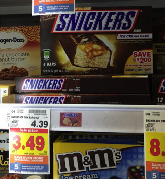 snickers ice cream coupon