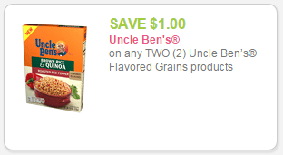 Uncle Bens coupon
