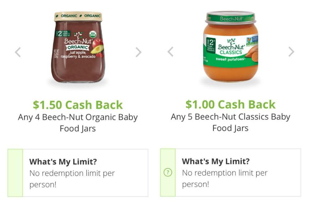 Beechnut Organic Baby Food Coupons