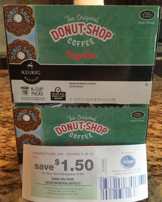 54 u2013 531 green mountain coffee or the original donut shop coffee pods buy 2 u003d 150 oyno buy 3 u003d 200 oyno buy 4 u003d 300 oyno - Donut Shop Coffee
