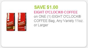 eight o clock coupon