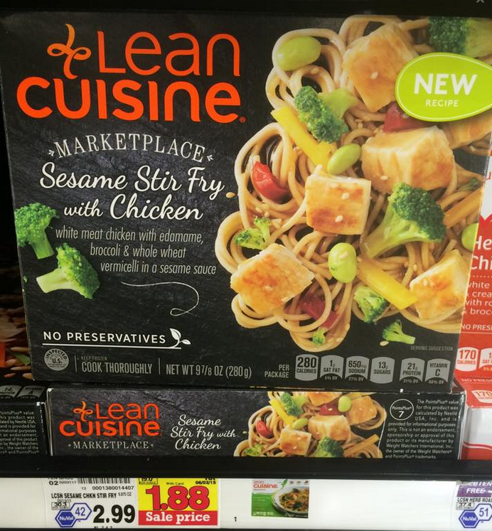 New lean cuisine coupons kroger sale great deal at for Average price of lean cuisine