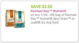 Rachael ray pet food coupons