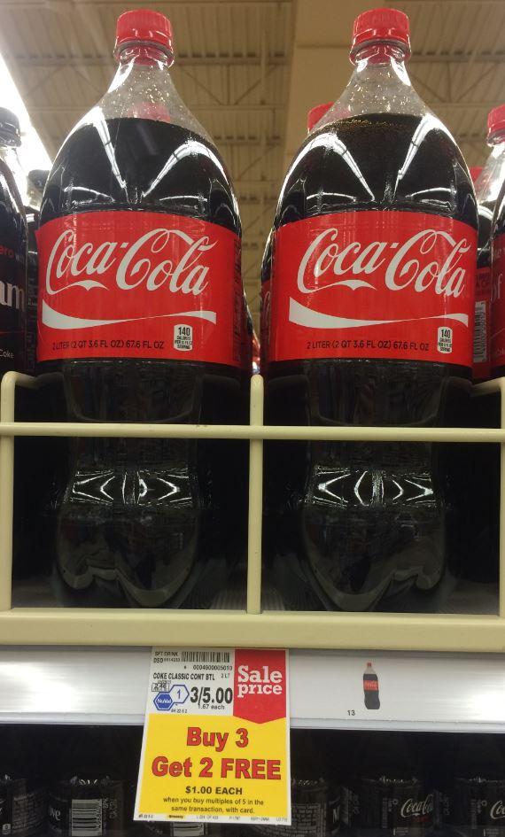 Coca Cola Coupon 2 Liter Bottles For 0 80 And 12 Packs For 2 67 Kroger Krazy