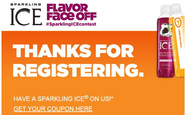 coupon sparkling ice
