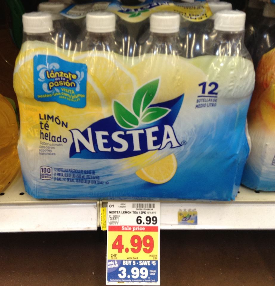 NEW Nestea Catalina + Coupon = 12 Pack Iced Tea for $1.99 ...