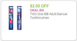 oral b coupon