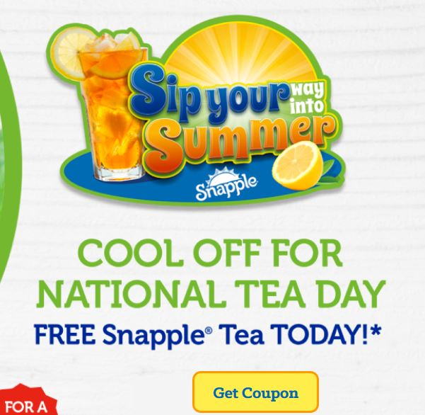 snapple coupon