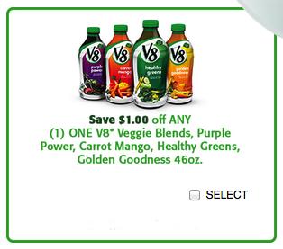 v8 veggie blends