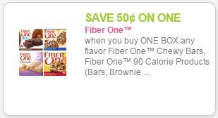 fiber one coupon