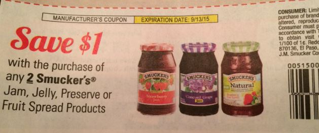 Smuckers coupons